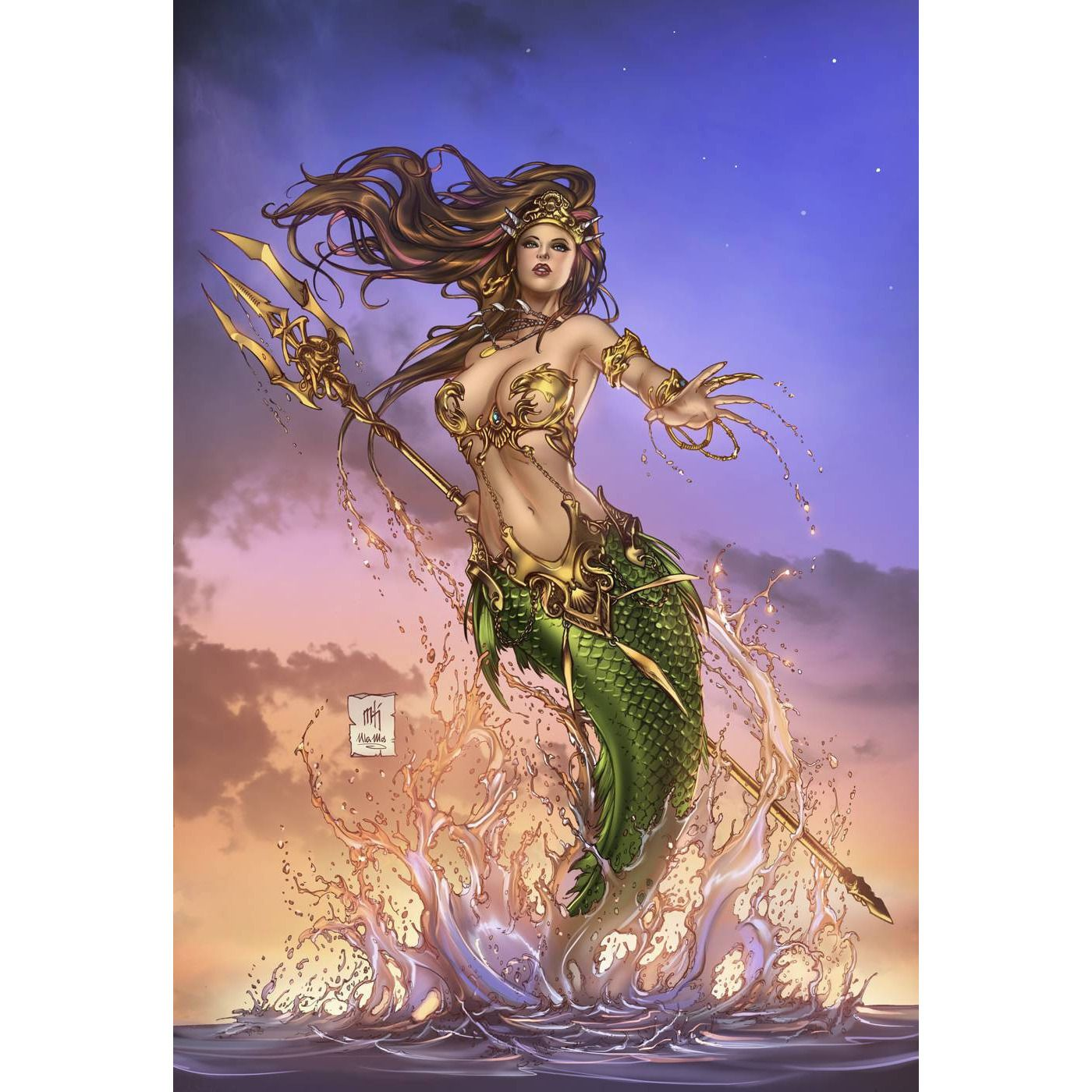 Grimm Fairy Tales The Little Mermaid TP Uncanny!
