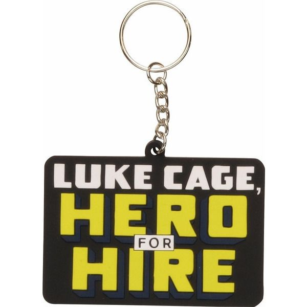 Luke Cage Hero For Hire Keychain Uncanny!