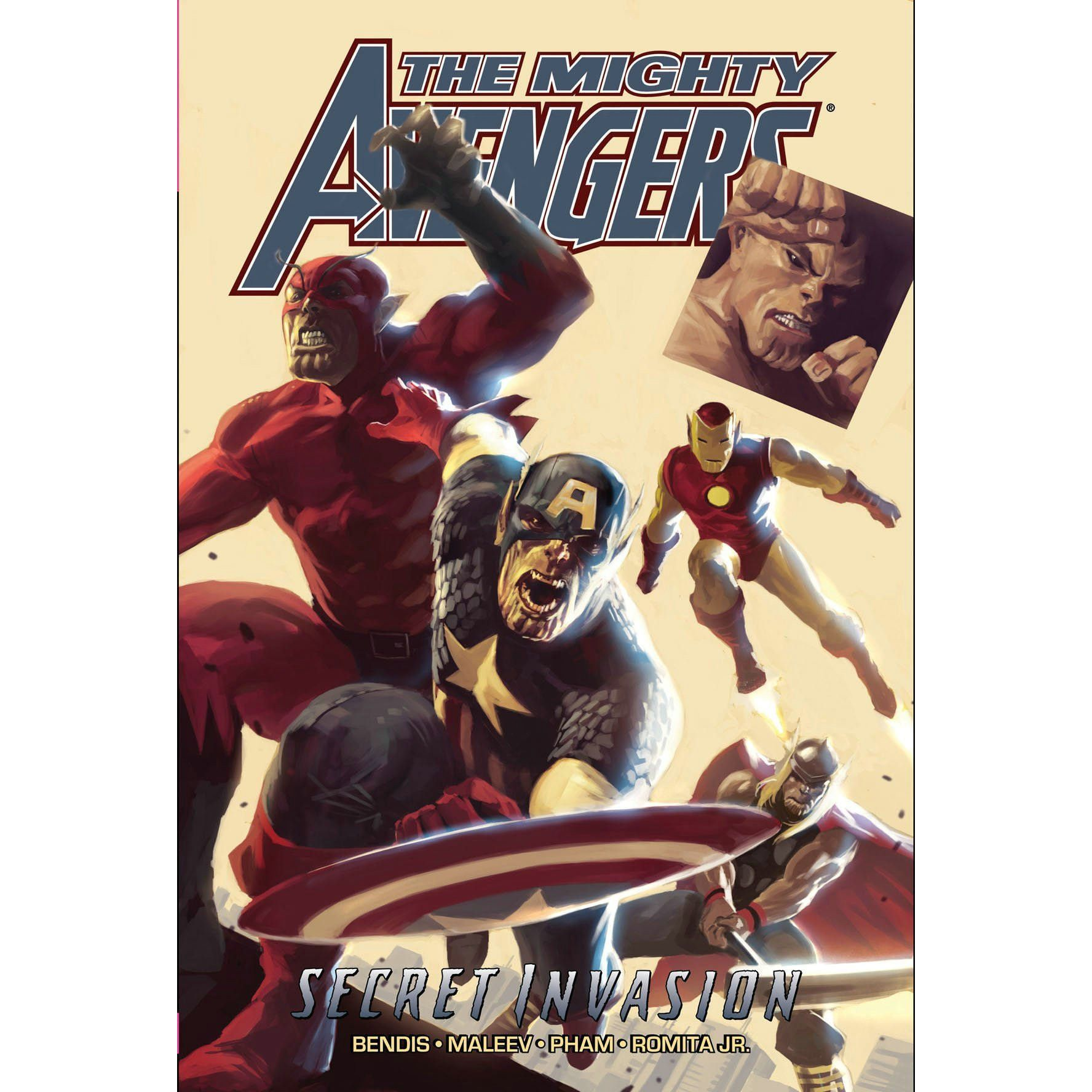 The Mighty Avengers Secret Invasion TP Vol 3 Uncanny!