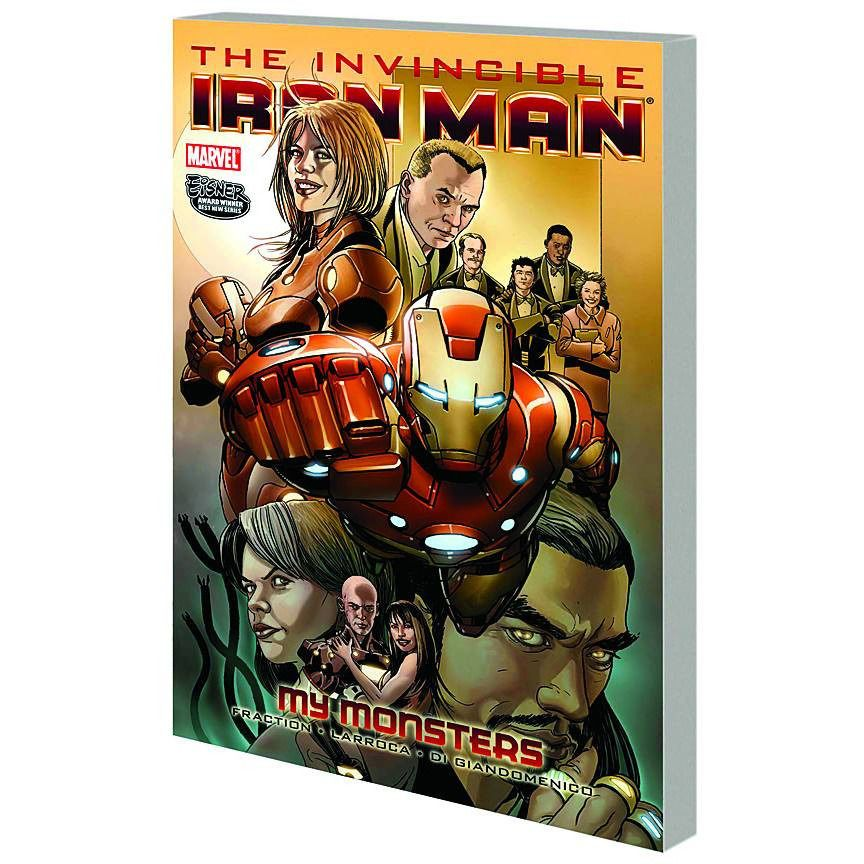 Invincible Iron Man TP Vol 07 My Monsters Uncanny!