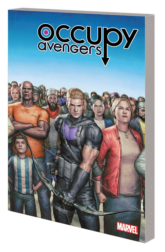 Occupy Avengers TP Vol 1 Taking Back Justice