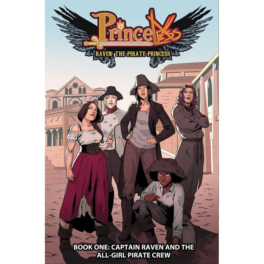 Princeless TP Vol 01 Captain Raven and the All-Girl Pirate Crew Uncanny!