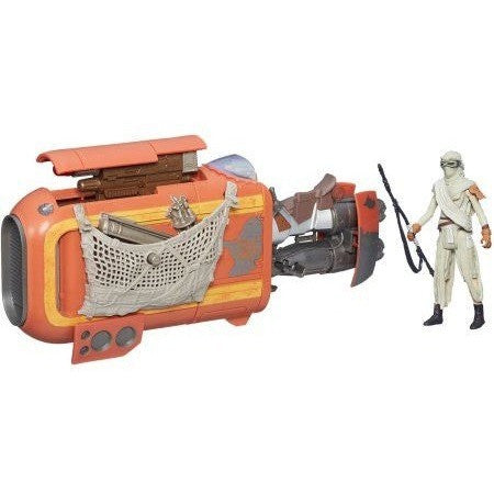 Star Wars Rey's Speeder Bike Uncanny!