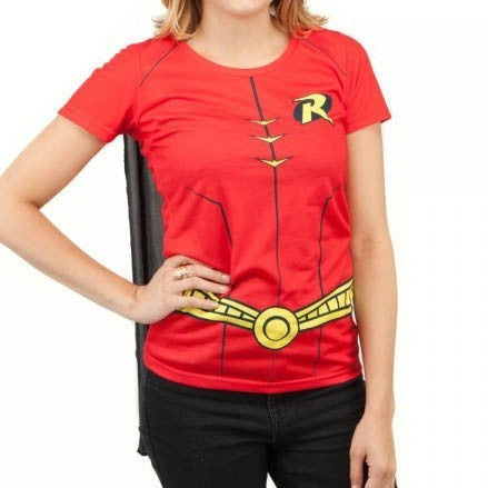 Robin Costume Shirt with Cape