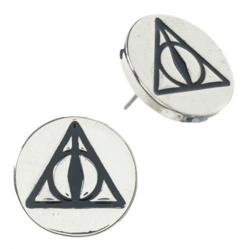 Harry Potter Deathly Hallows Jewelry Earrings
