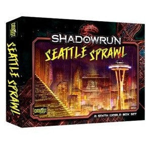 Shadowrun Seattle Sprawl Box Set Uncanny!