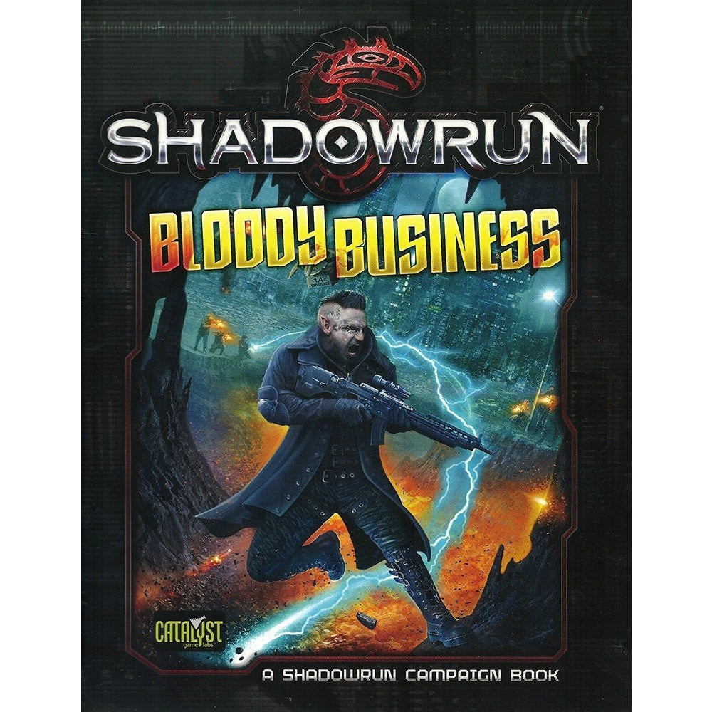 Shadowrun Bloody Business RPG Campaign Book