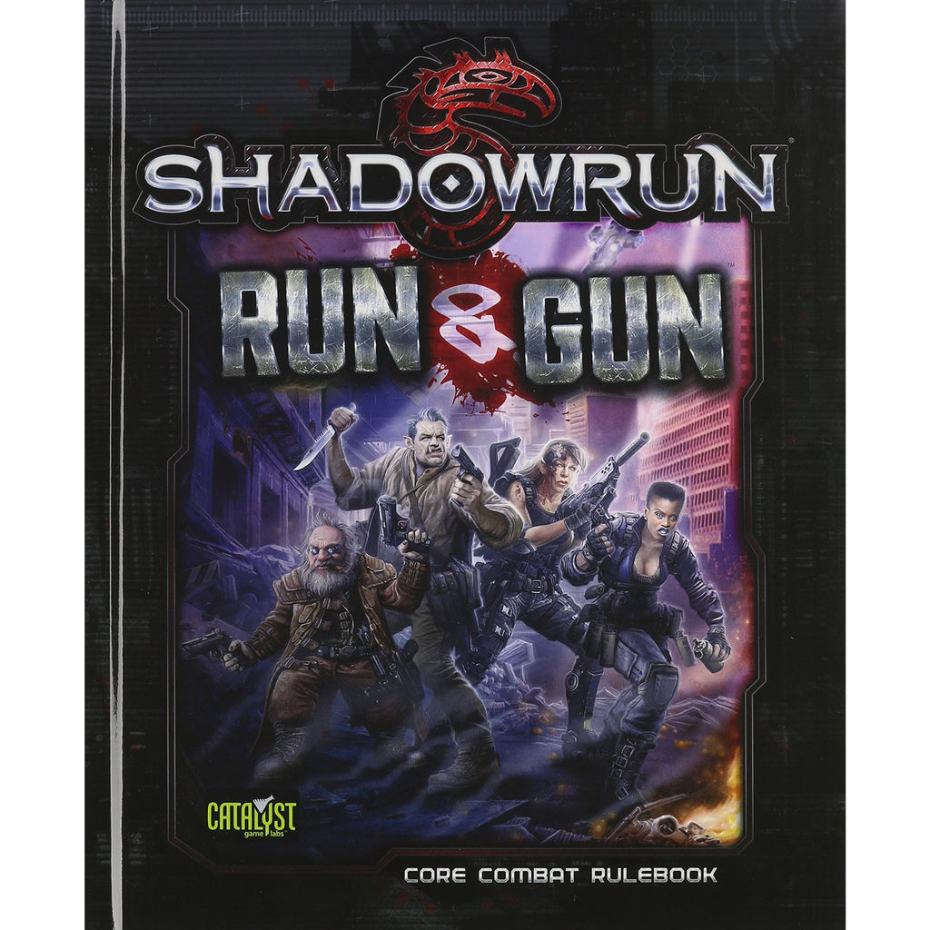 Shadowrun Run & Gun RPG Core Combat Rulebook