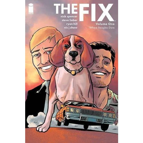 The Fix TP Vol 01 Where Beagles Dare Uncanny!