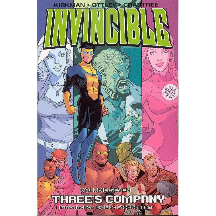 Invincible TP Vol 7 Three's Company Uncanny!