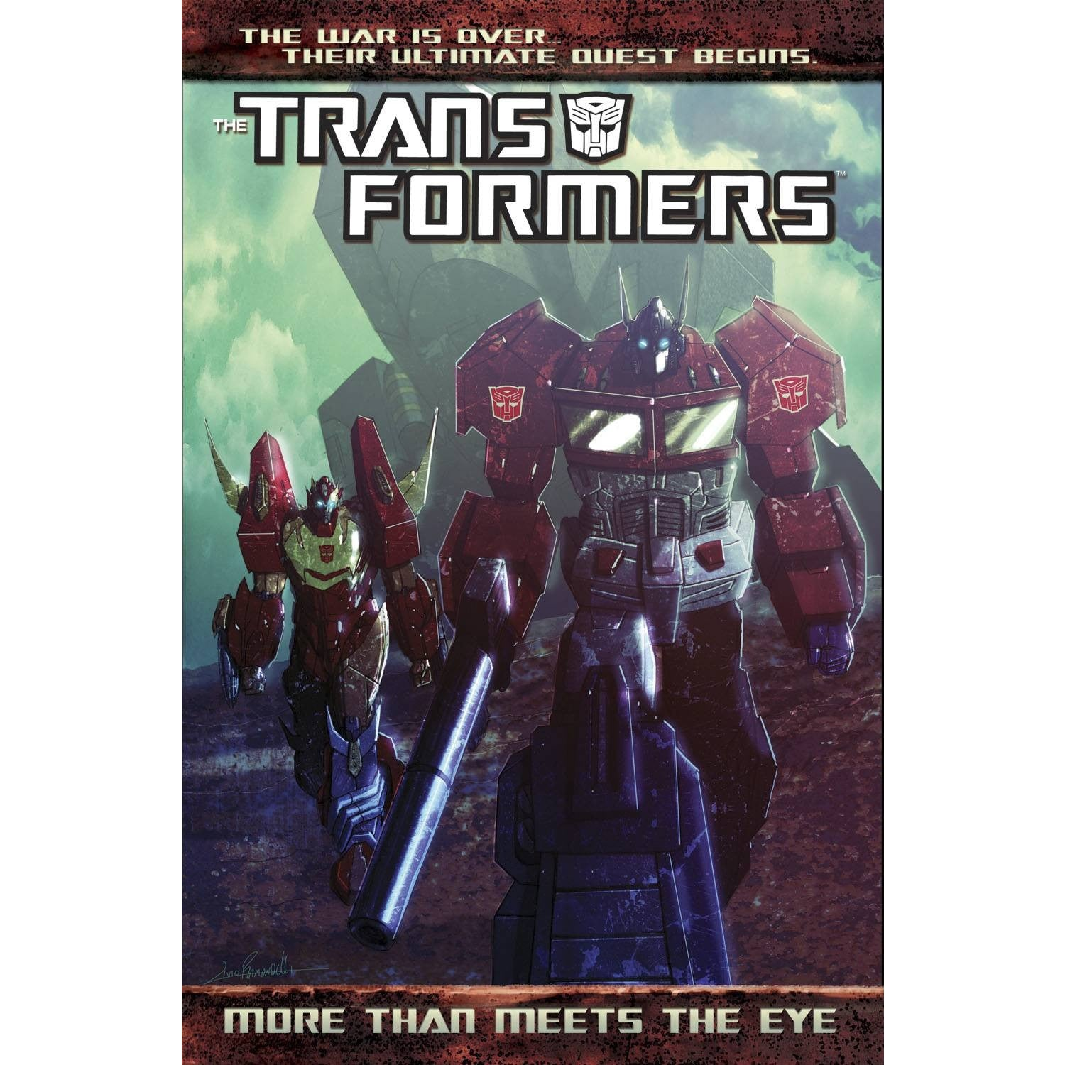 Transformers TP More Than Meets the Eye Vol 1