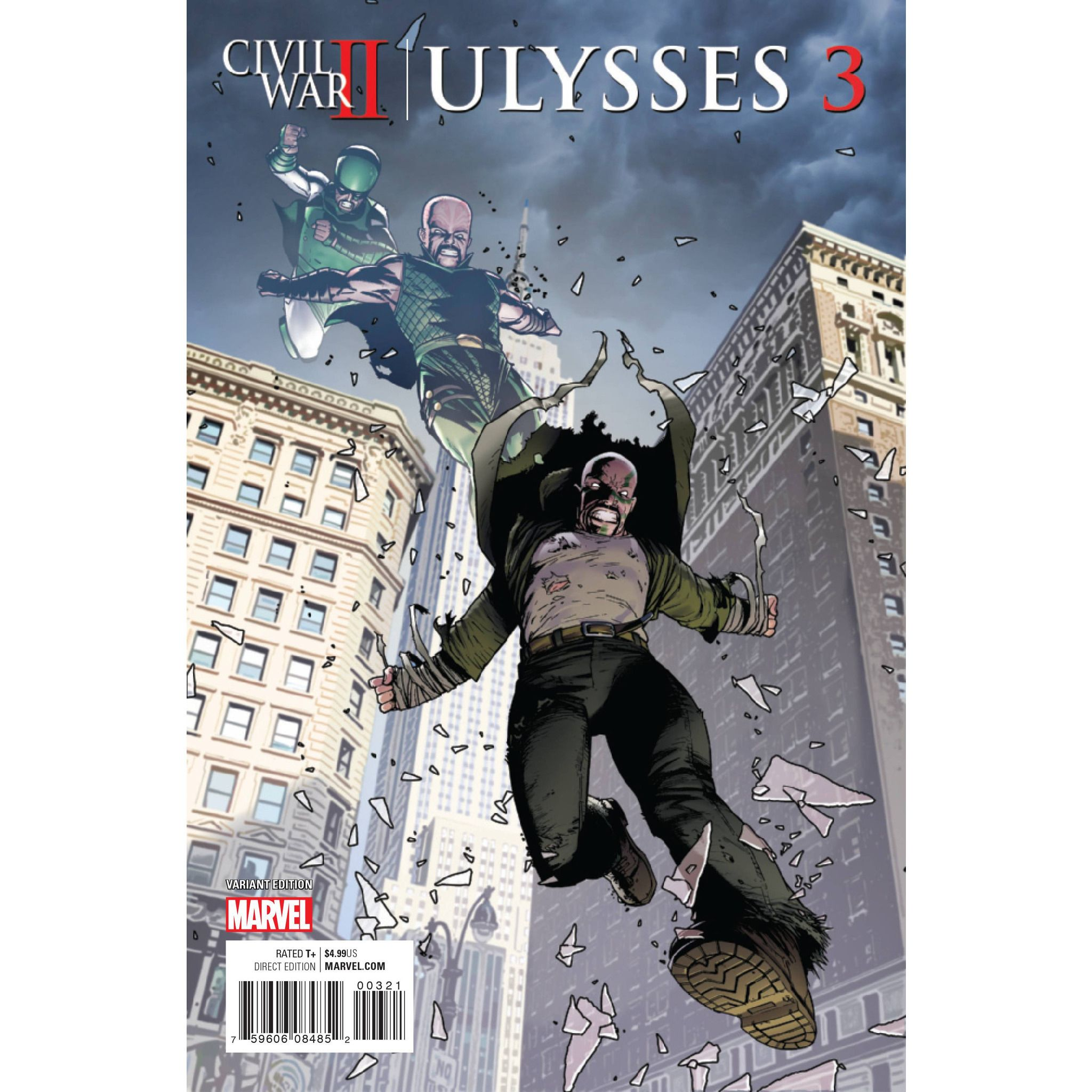 Civil War II Ulysses #3 Uncanny!
