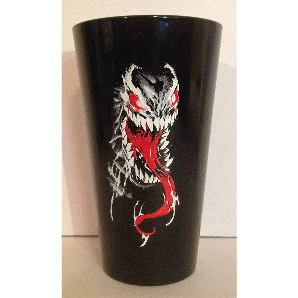Venom Black Pint Glass