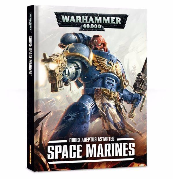 Warhammer 40k Codex Adeptus Astartes Space Marines 7th Edition HC