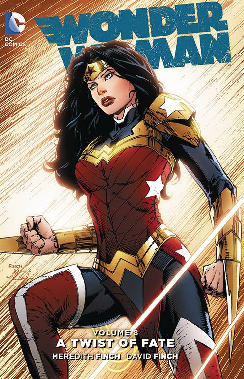 Wonder Woman HC Vol 8 Twist of Fate