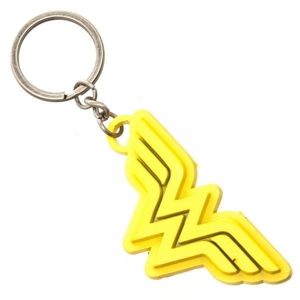 Wonder Woman Painted Metal Keychain Uncanny!