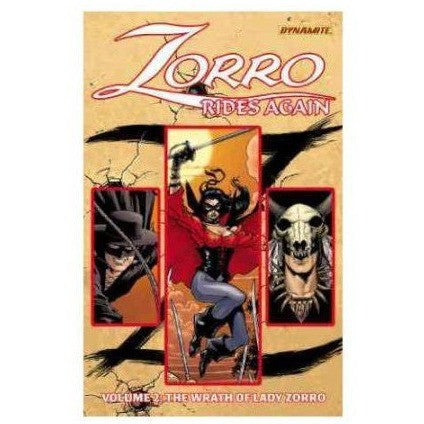 Zorro Rides Again Volume 2: The Wrath of Lady Zorro TP Uncanny!