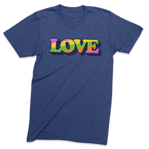 Love t shirt - 100% of net profits to Southern Poverty Law Center - Totally Radical Awesome