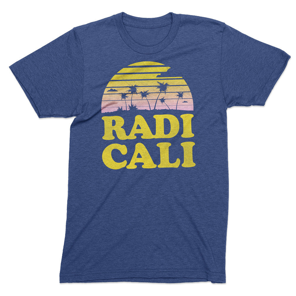 Radicalifornia vintage sunset - Totally Radical Awesome