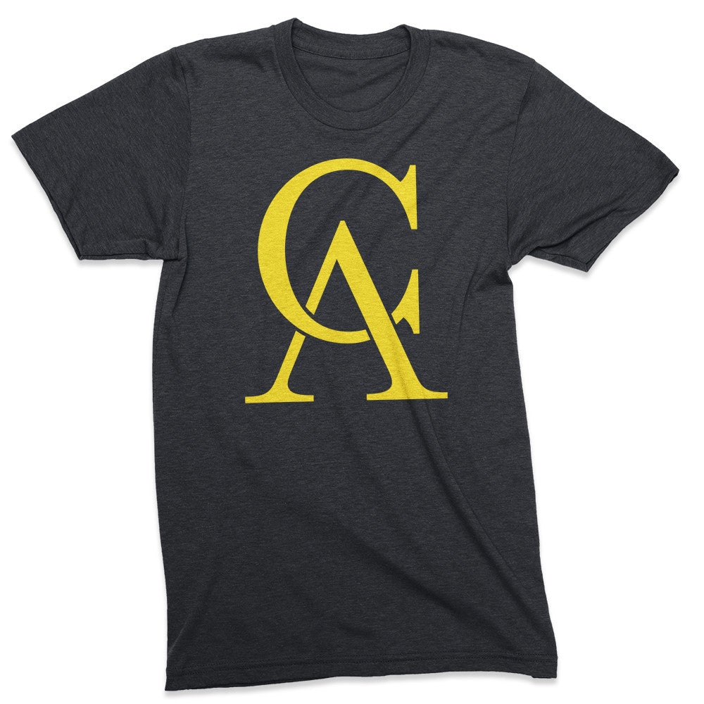 Radicalifornia Monogram tshirt - Totally Radical Awesome