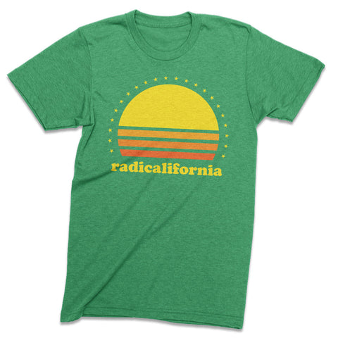Radicalifornia 70s sunset - Totally Radical Awesome