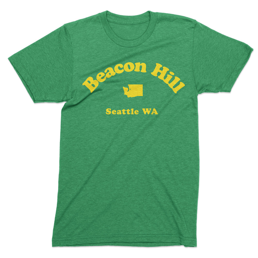 Beacon Hill Seattle tshirt - Totally Radical Awesome