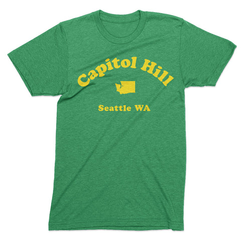 Capitol Hill Seattle tshirt - Totally Radical Awesome
