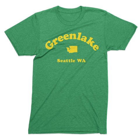 Greenlake Seattle tshirt - Totally Radical Awesome
