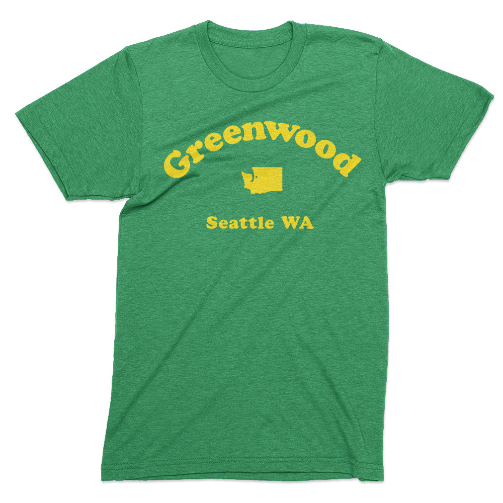 Greenwood Seattle tshirt - Totally Radical Awesome