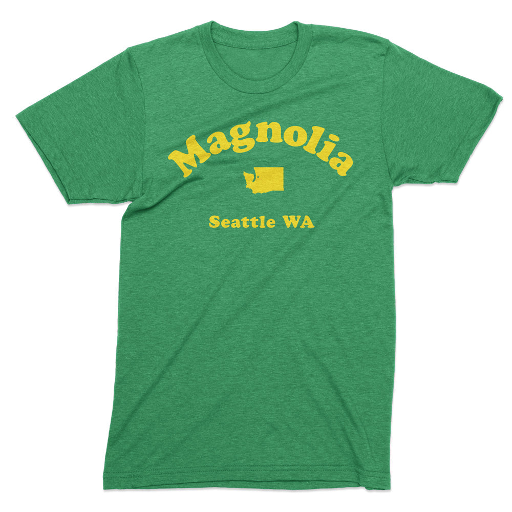 Magnolia Seattle tshirt - Totally Radical Awesome