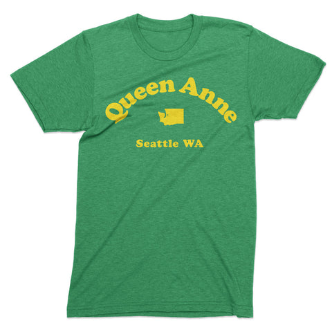 Queen Anne Seattle tshirt - Totally Radical Awesome