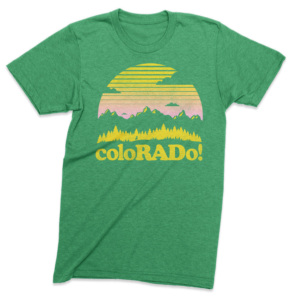 ColoRADo! - Colorado tshirt - Totally Radical Awesome