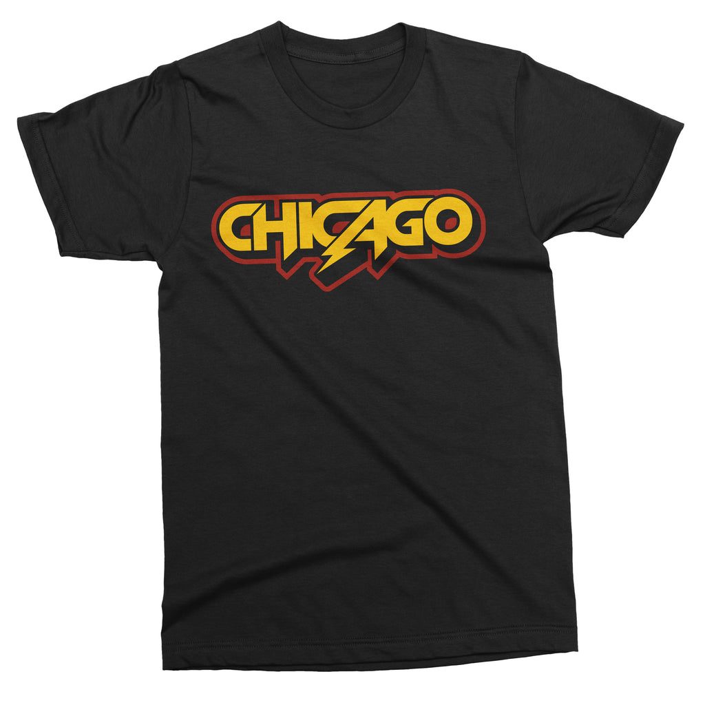 Chicago Metal tee - Totally Radical Awesome