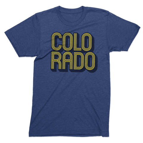 Colorado Disco t shirt - Totally Radical Awesome