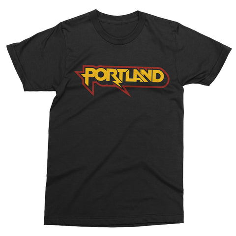 Portland Metal tee - Totally Radical Awesome