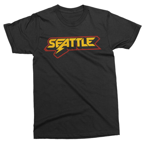 Seattle Metal tee - Totally Radical Awesome