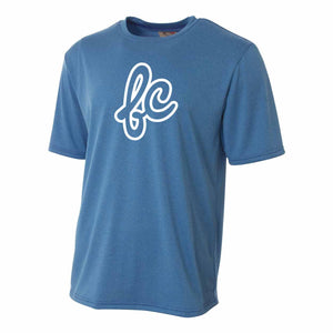 Men's Athletic T - Cursive Outlined-L - Fairly Casual - Clothing