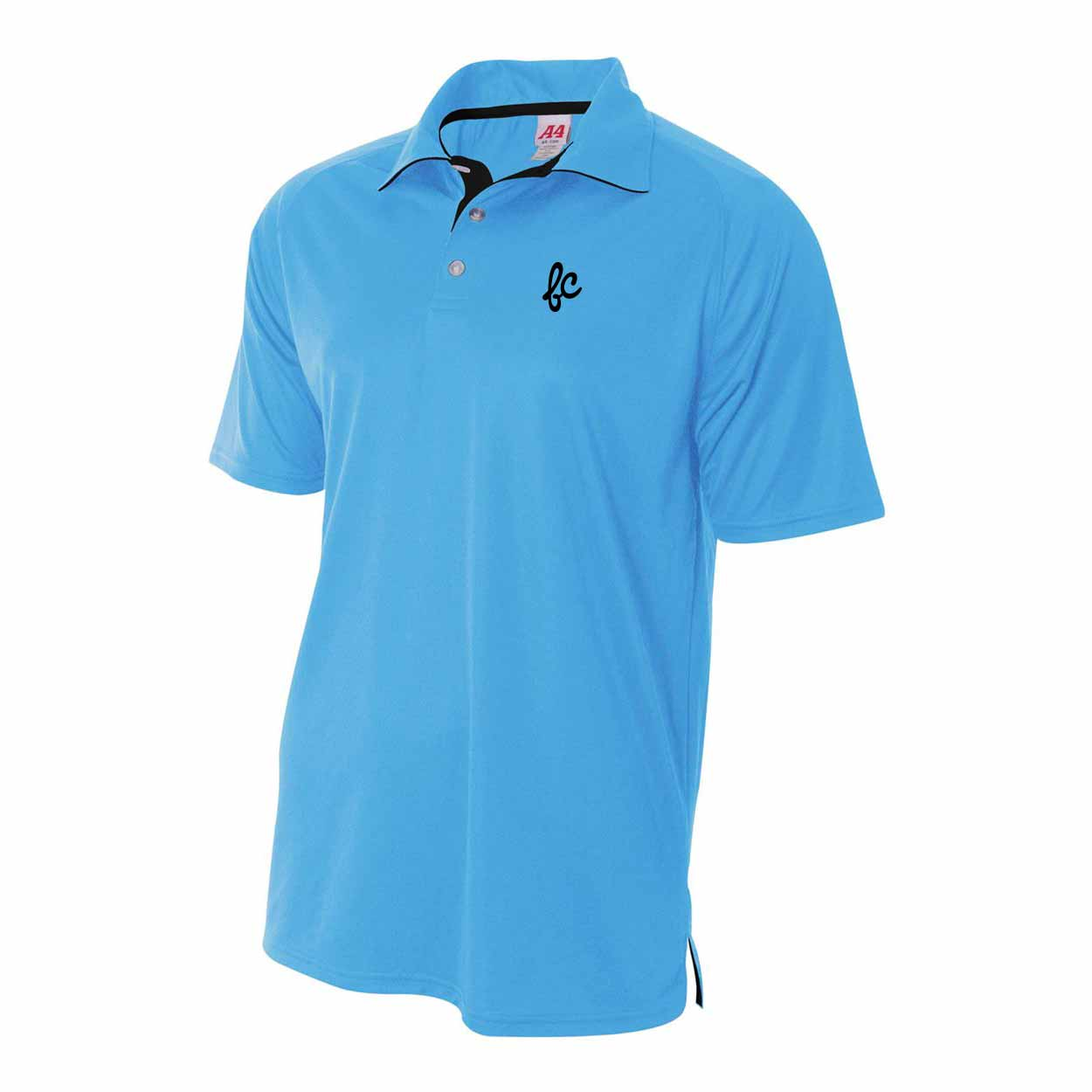 Men's Polo - Cursive-S - Fairly Casual - Clothing