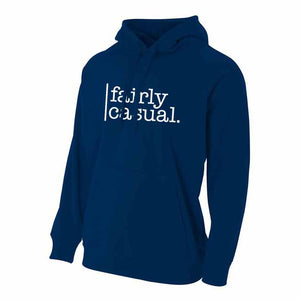 Men's Hoodie - Logo - Fairly Casual - Clothing