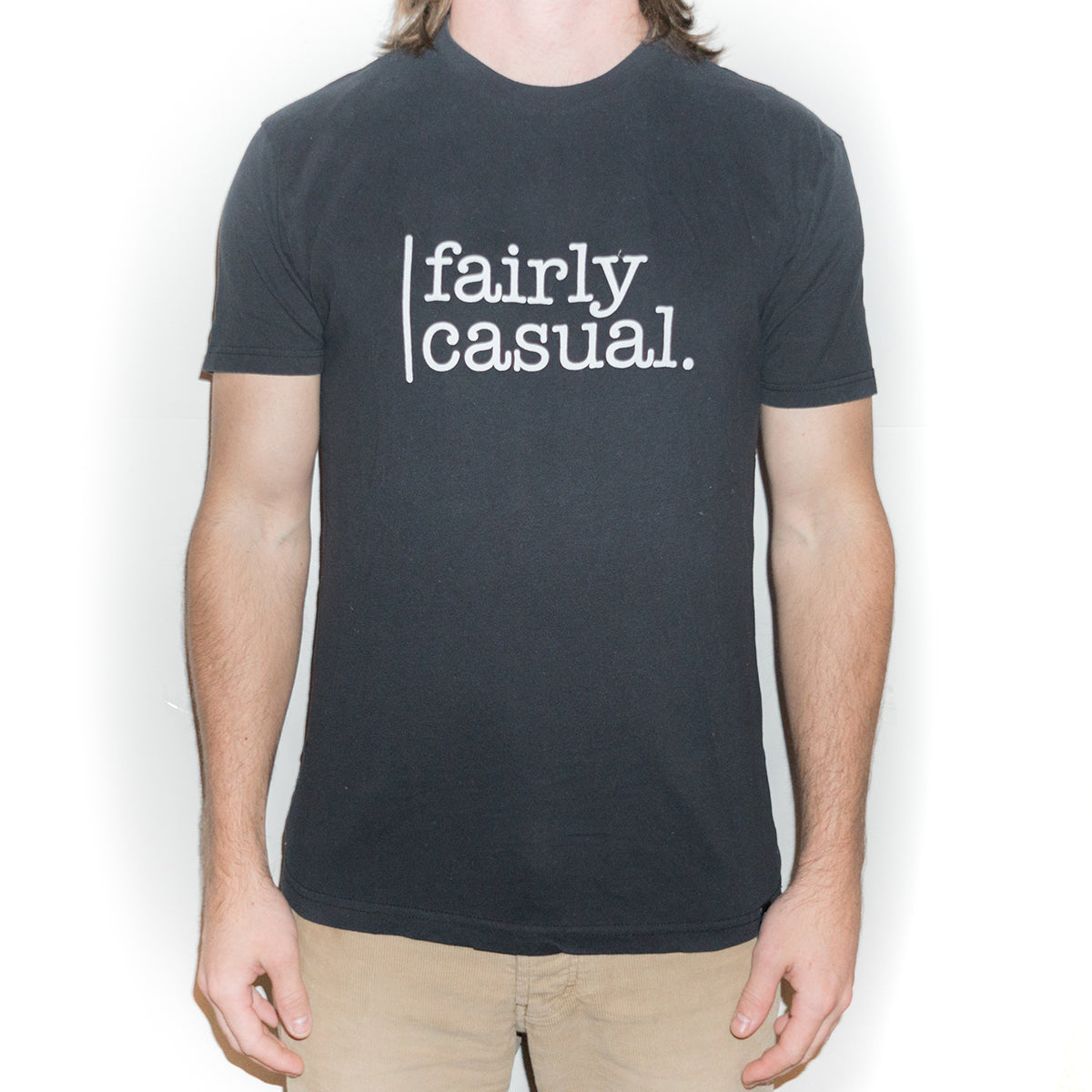 Men's Casual T - Logo - Fairly Casual - Clothing