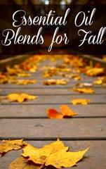 Essential Oil Room Sprays for Fall