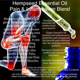 Hempseed Essential Oil for Pain & Inflammation
