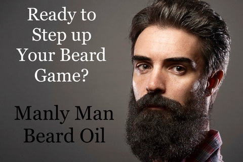 """Manly Man"" Beard Oil"