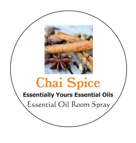 Chai Spice Essential Oil Room Spray