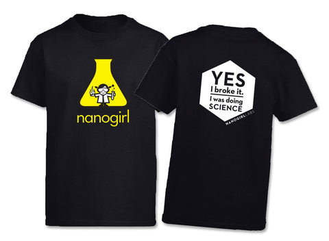 "Nanogirl ""I Was Doing Science"" T-Shirt - Children's"