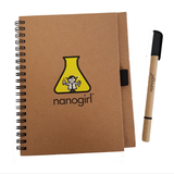 Nanogirl Lab Notebook & Highlighter Pen