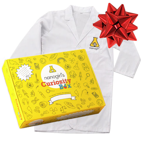 Nanogirl Science at Home Christmas Gift Pack