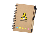 Nanogirl Science Lab Notebook and Pen gift