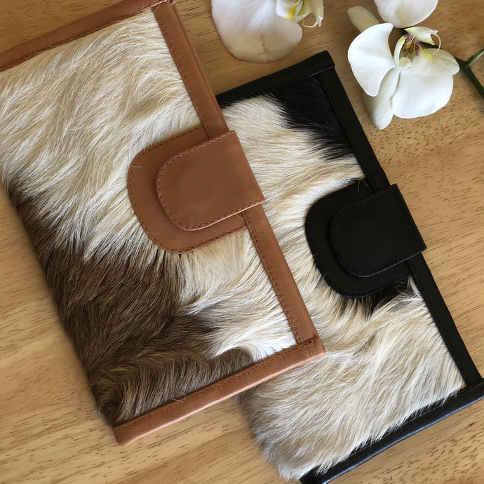 Savannah Wallet - Hairy Hide