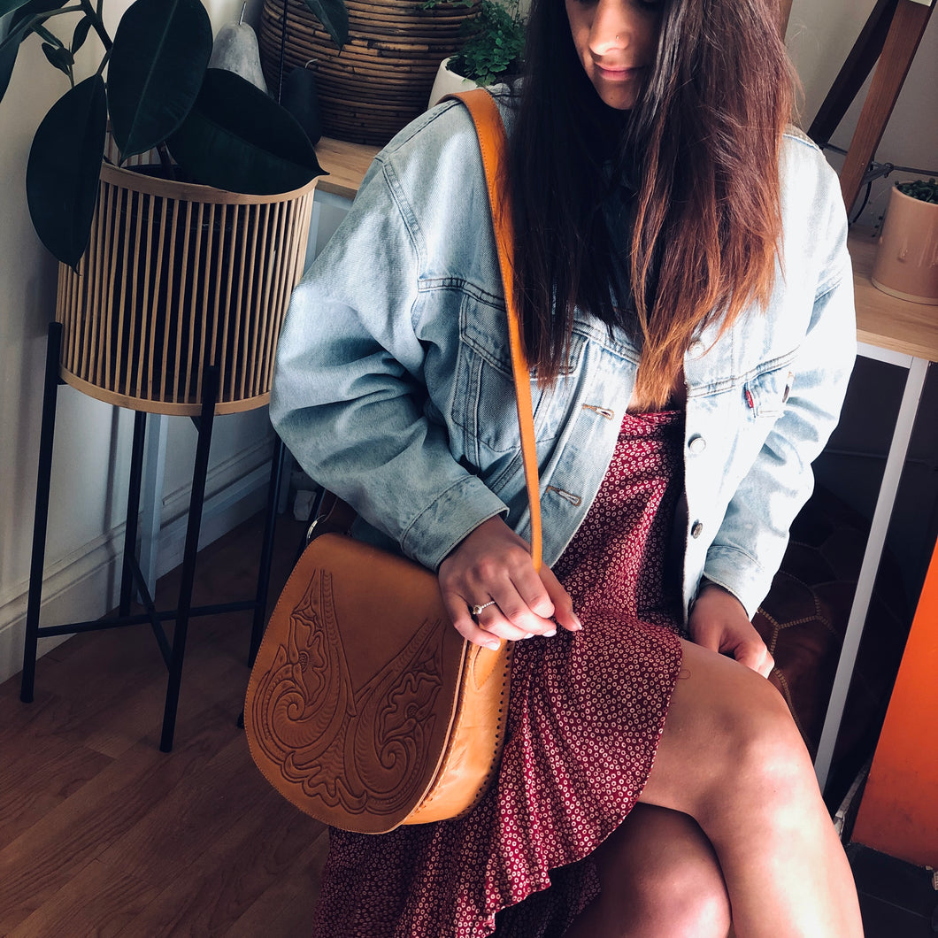 Boho Saddle Bag